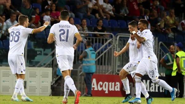 Hellas, buon punto a Cagliari: «Abbiamo subito la III° partita in pochi giorni»