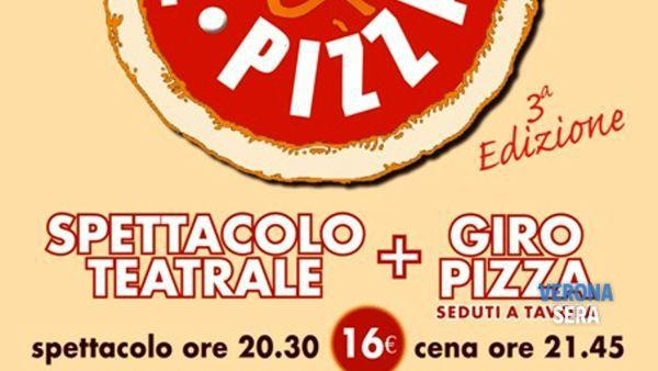 """Arriva il """"Teatro&Pizza"""" all'Osteria Pizzeria Mattarana: 12 appuntamenti all'insegna del divertimento"""