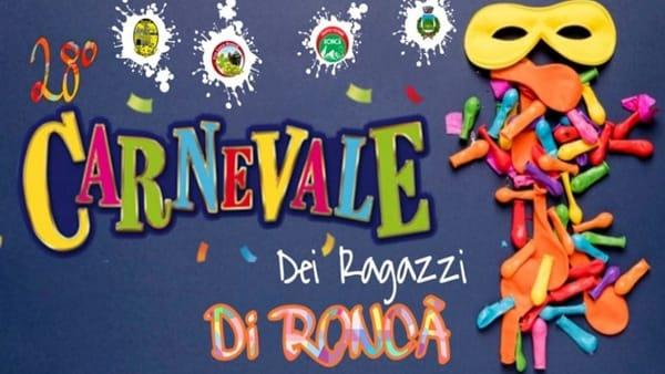 "Sfilata di carri e maschere per il 28° ""Carnevale dei ragazzi di Roncà"""