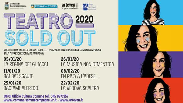 "A Sommacampagna la rassegna ""Teatro Sold-Out"""
