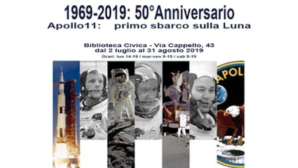 """Alla biblioteca civica di Verona la mostra interattiva """"Apollo 11: primo sbarco sulla Luna"""""""