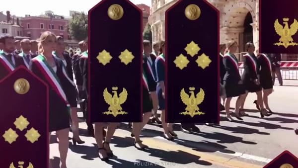Presentati anche in questura a Verona i nuovi distintivi della Polizia di Stato