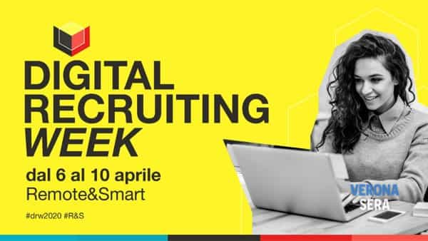"""Trovare lavoro ai tempi del lockdown si può, con la """"Digital recruiting week"""""""