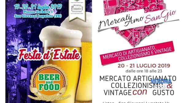 Alla Festa d'Estate di San Giovanni, mercato di artigianato, collezionismo e vintage