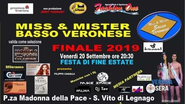 Elezione di Miss e Mister Basso Veronese 2019