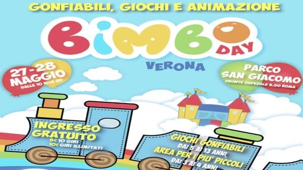 Al Parco San Giacomo fa il suo ritorno l'evento per famiglie Bimbo Day Verona