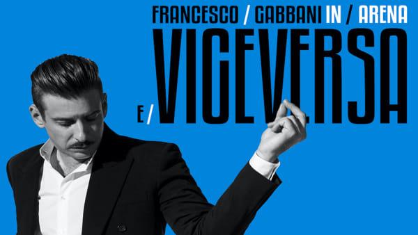 Francesco Gabbani in concerto all'Arena di Verona