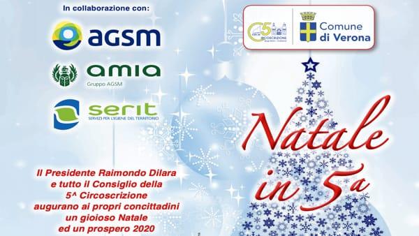 """Spettacoli e concerti per il """"Natale in Quinta Circoscrizione"""" a Verona"""