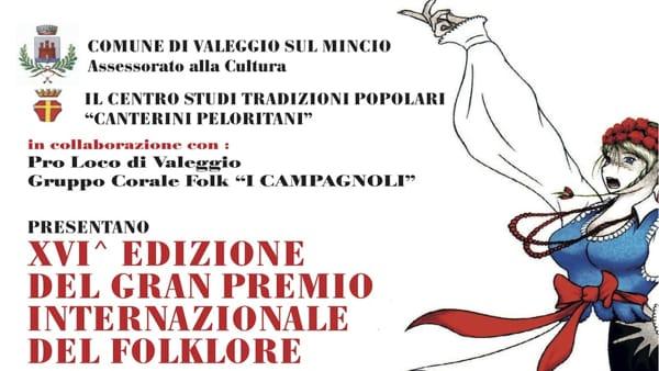 Sbarca a Valeggio sul Mincio il Gran Premio Internazionale del Folklore