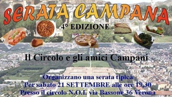 """Musica e gastronomia tipiche napoletane per la """"Festa campana"""" a Verona"""