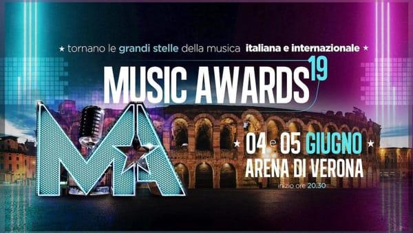 Oltre 50 grandi artisti sul palco dell'Arena di Verona per i Music Awards 2019