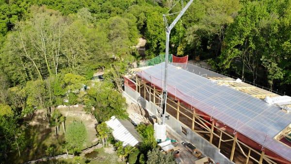 """Per i suoi 50 anni il Parco Natura Viva si regala la """"serra dei giganti"""""""