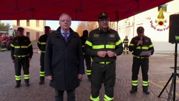 Vigili del fuoco, nel 2019 aumentano gli interventi ma diminuiscono gli incendi