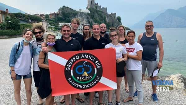 Gas diving school: corsi sub e prove in piscina e nel lago di Garda