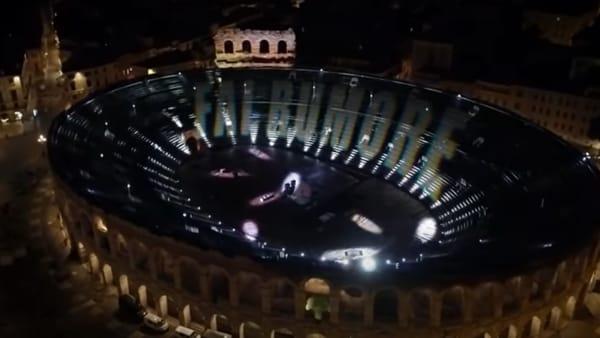 L'emozionante esibizione di Diodato all'Arena per l'Eurovision Song Contest