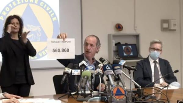 Zaia: «Riaprire le scuole». Dott.ssa Russo: «Oggi il Veneto è regione a contagiosità bassa»