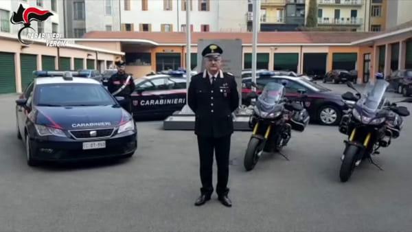 Arrestato dai carabinieri dopo il tentativo di furto all'interno di un hotel a Verona