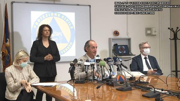 Zaia: «Governo approvi tutte le linee guida che sono ancora in sospeso»