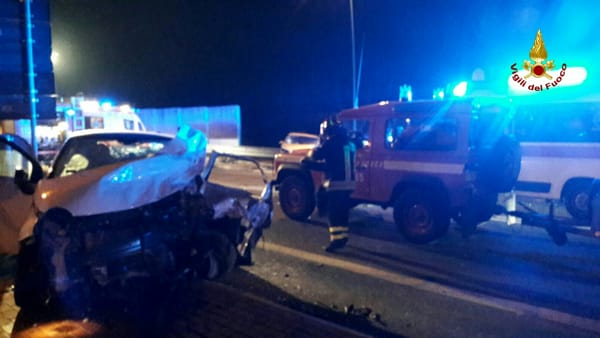 Incidente a Peschiera, il responsabile era ubriaco. Scatta l'omicidio stradale