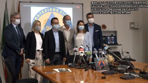 Zaia onora i medici che sostituirono i colleghi malati a Vo' Euganeo