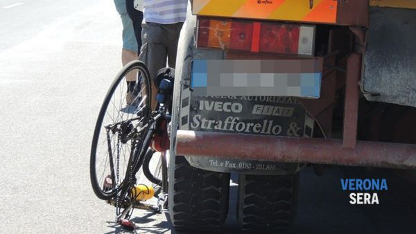 Incidente con una bici (Foto di repertorio)