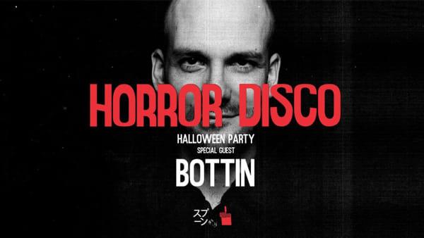 """Horror Disco Halloween Party"" al Colorificio Kroen con William Bottin"