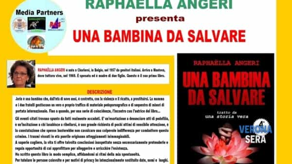 "venerdi'letterari  l'autrice raphaella angeri presenta ""una bambina da salvare""-3"
