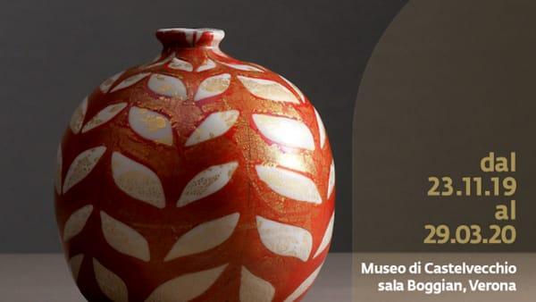 """Al Museo di Castelvecchio la mostra """"Carlo Scarpa. Vetri e Disegni. 1925-1931"""""""