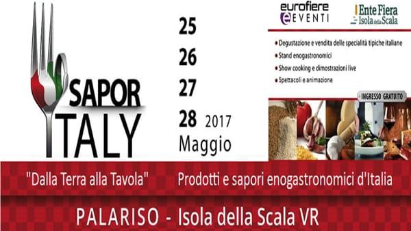 """""""Saporitaly"""", la fiera dedicata alle tipicità enogastronomiche italiane a Isola della Scala"""