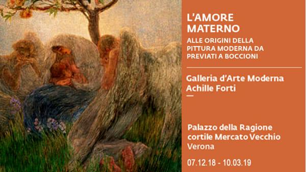 """""""L'amore materno"""" alla Gam: le origini della pittura moderna da Previati a Boccioni"""