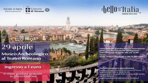 """Al Museo Archeologico al Teatro Romano visite guidate gratuite per scoprire """"Il Bello dell'Italia"""""""