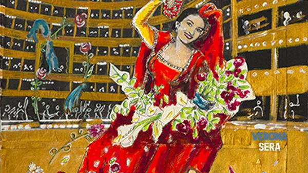"""La grande mostra """"Dario Fo dipinge Maria Callas"""" è aperta fino al 27 settembre"""