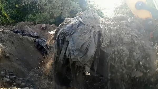 Scoperti rifiuti interrati illegalmente in 4 comuni della pianura veronese