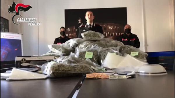 Maxi-sequestro di droga: 35 chili di marijuana trovati e 2 uomini arrestati