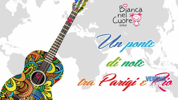 """Una serata di musica e poesia: """"Un ponte di note tra Parigi e Rio"""""""