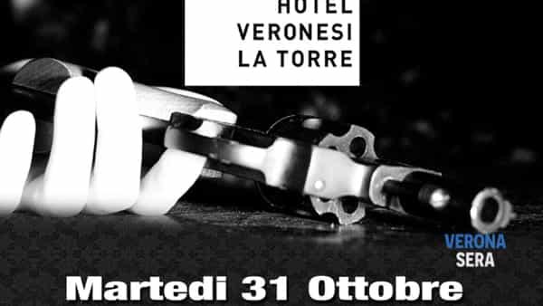 Assapora il gusto del mistero, cena di Halloween con delitto all'Hotel Veronesi La Torre