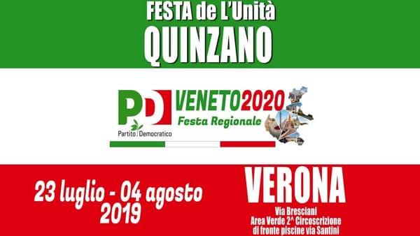 """A Verona torna la """"Festa de L'Unità di Quinzano"""""""