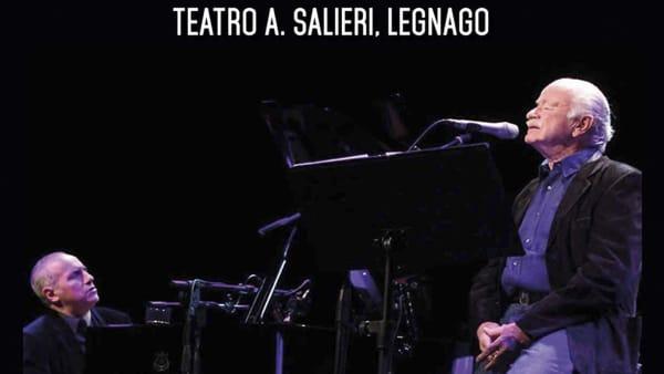 Gino Paoli e Danilo Rea in concerto al Teatro Salieri di Legnago