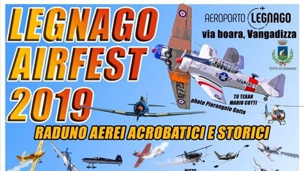 Legnago Airfest 2019: raduno aerei acrobatici e storici