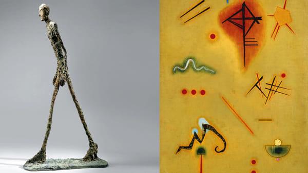 """""""Il tempo di Giacometti da Chagall a Kandinsky"""" in mostra alla Gran Guardia"""