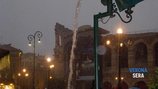 Meteo Verona: da stasera torna la pioggia