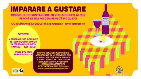 """Marchio del Baldo propone un """"Corso degustazione di vini abbinati ai cibi"""""""