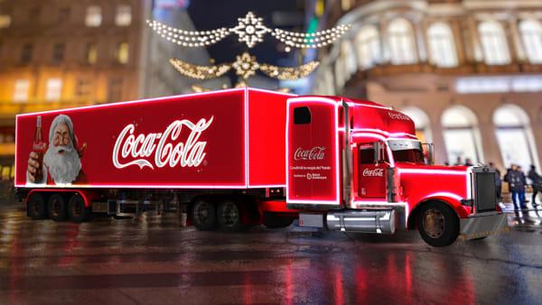 Il Coca-Cola Christmas Village e un mercatino a sostegno di Banco Alimentare a Sona