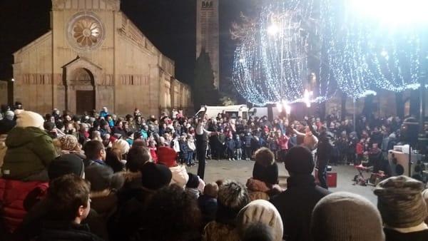 In Piazza San Zeno a Verona il Capodanno dei Bambini