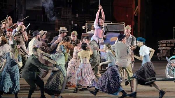 """La """"Carmen"""" di Bizet in scena per la quinta rappresentazione in Arena"""