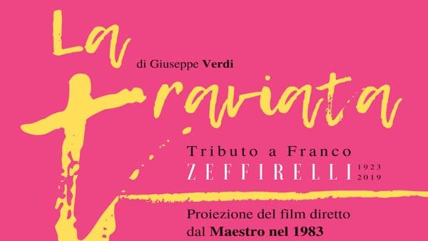 """Valeggio sul Mincio omaggia Zeffirelli con la proiezione del suo film """"La Traviata"""""""