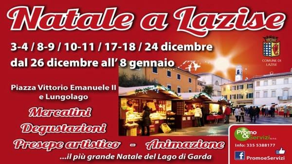 Natale a Lazise: il più bel mercatino del Lago di Garda fino all'8 gennaio