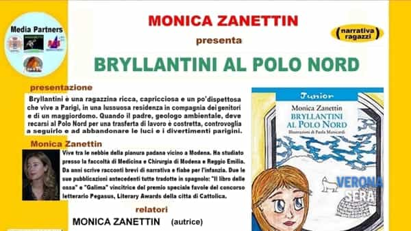 """Zanettin con """"Bryllantini al polo nord"""" ospite ai venerdì letterari"""