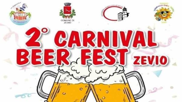 Musica e tanta birra per il Carnival Beer Fest a Zevio