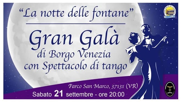 Cucina tipica e spettacoli imperdibili a Verona per il Gran Galà di Borgo Venezia